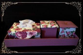 Porta lenços de papel (caixa)