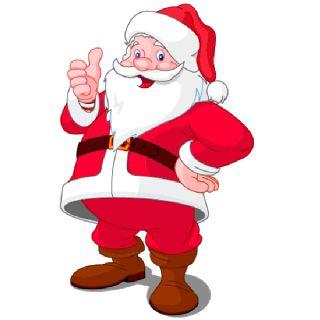 Christmas Santa clip art   Disney And Cartoon Christmas Clip Art Images