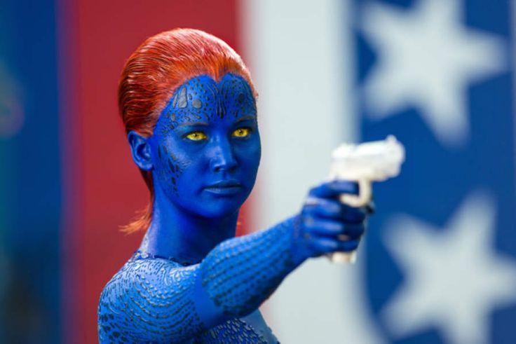 Jennifer Lawrence aime décidément les sagas: de retour en Mystique dans X-Men : Days of Future Past (2014)