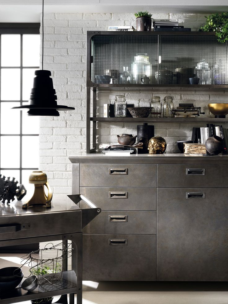 Pin by yeye shop on furniture pinterest industrial for Scavolini cabinets