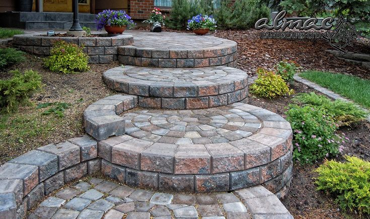 Almac Landscapes Ltd - Stone Stair Services