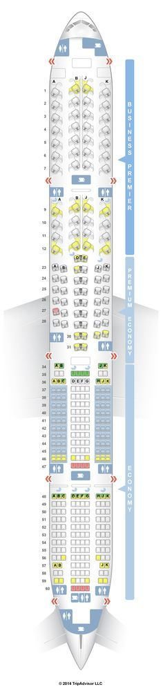 SeatGuru Seat Map Air New Zealand Boeing 777-300 (773)