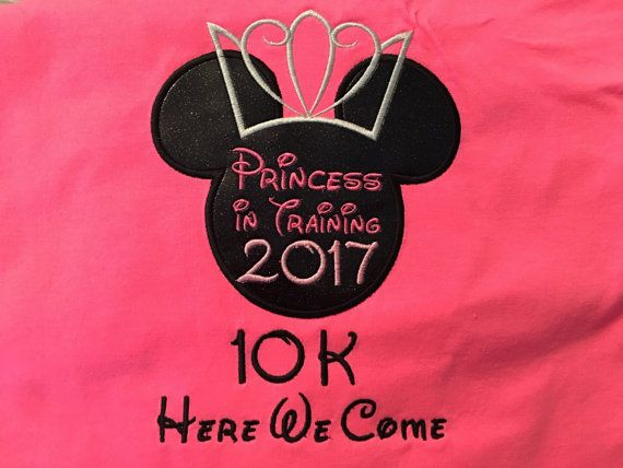 Thank you for checking out Designs by Okerina! I am looking forward to making a shirt for you! All shirts are made and customized for you! Are you training to run in the Run Disney Princess races? This shirt would be perfect to wear while training! This order is for one Princess in