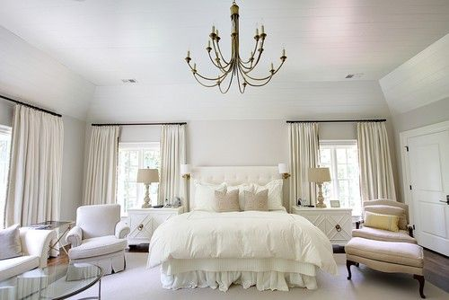 Good tips for white rooms: Decor, Interior, All White, Masterbedroom, White Bedrooms, Master Bedrooms, Bedroom Designs, Bedroom Ideas