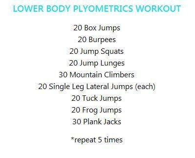 A do-anywhere plyometrics workout! #FitFluential #getafterit