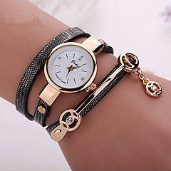 мода новый стиль летом кожа случайные браслет часы наручные часы женщины одеваются Часы relogios femininos часы