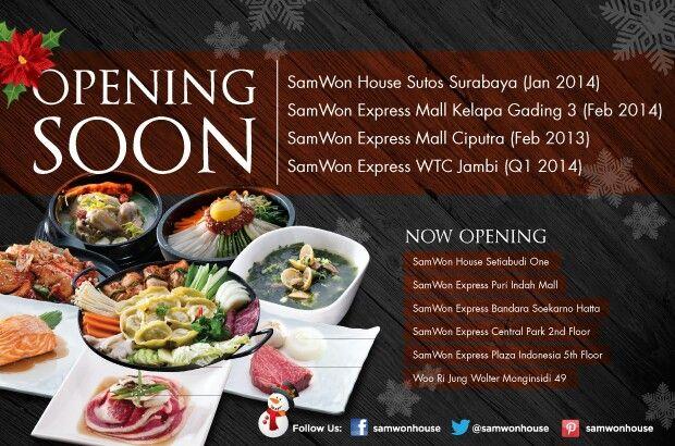 SamWon House,  SamWon Express & Woo Ri Jung www.samwonhouse.com