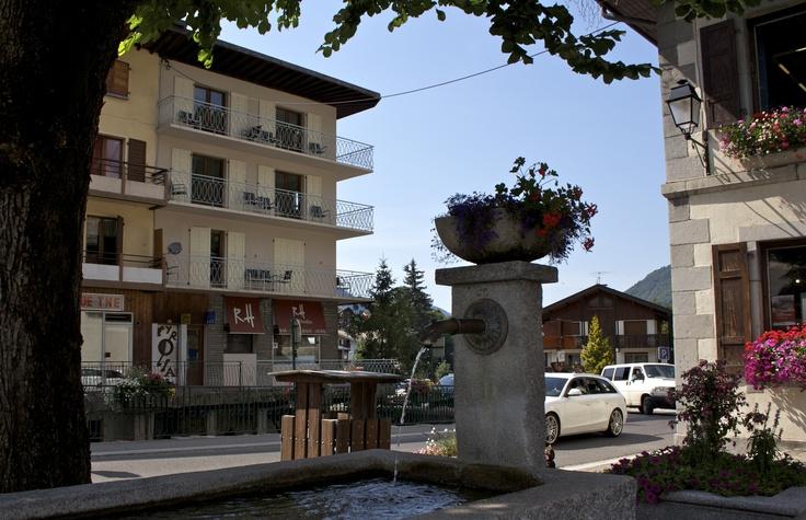 The Rhodos Hotel in mid Summer