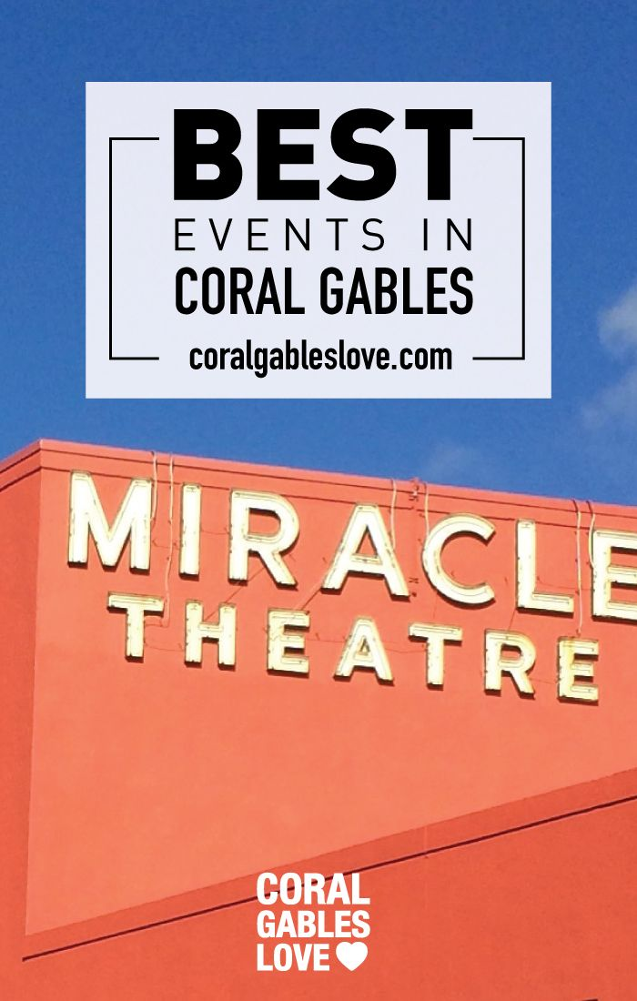 Events Hening This Week In C Gables Pinterest Event Calendar And Miami