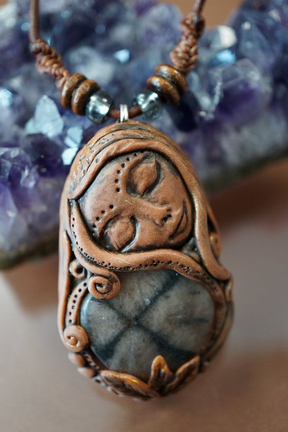 18 best goddess images on pinterest polymer clay jewelry goddess of balance pendant chiastolithe cross stone astral travel ooak mystical sleeping beauty aloadofball Image collections
