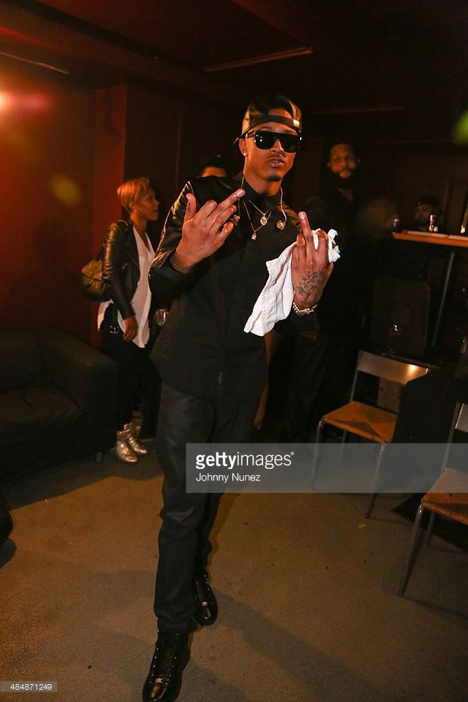 August Alsina attends August Alsina 'Testimony' Album Release Concert at S.O.B.'s on April 14, 2014 in New York City.