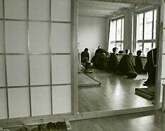 If you want to meditate and practice Zazen: Zen Dojo Berlin e.V., Mehringdamm 57, 10961 Berlin, http://www.zen-berlin.org/de/dojo-berlin/ - There are other clubs and dojos for Zen or Zazen in Berlin too.