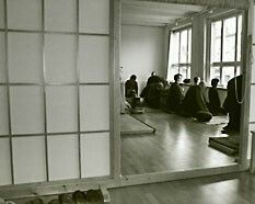 If you want to meditate and practice Zazen: Zen Dojo Berlin e.V., Mehringdamm 57, 10961 Berlin, http://www.zen-berlin.org/de/dojo-berlin/ - There are other clubs and dojos for Zen or Zazen in Berlin too.