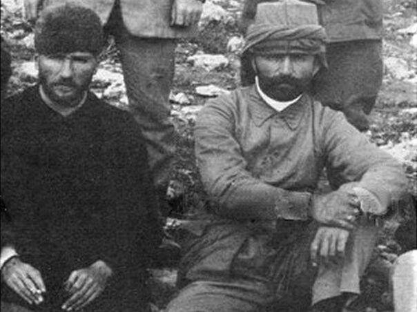 Ataürk ve Enver Paşa  Ataturk and Enver Pasha