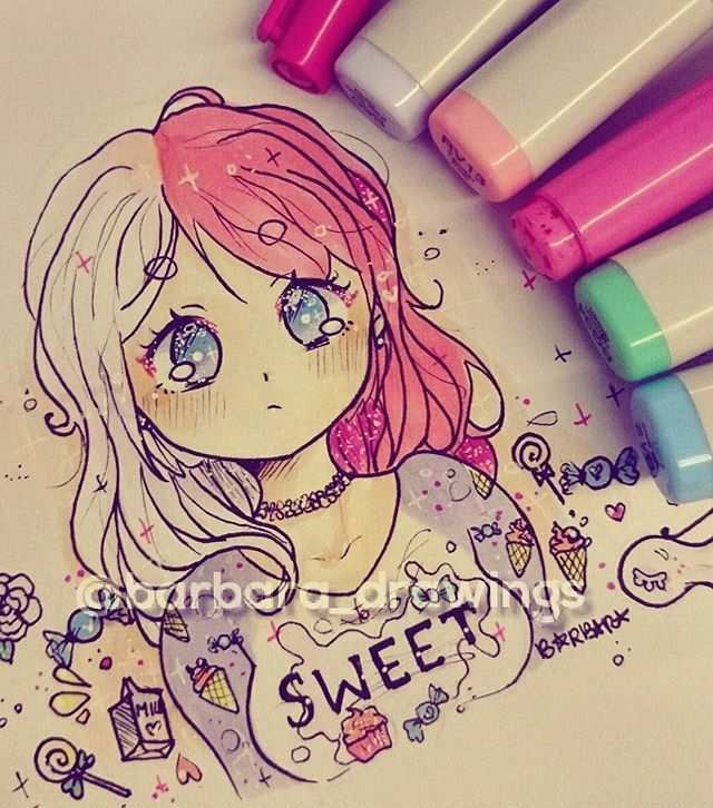 this is such good art! So pretty and cute! :3