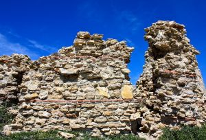 Ruins of the old watch tower at Torrecilla Beach