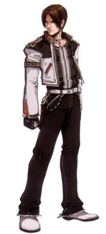 Kyo Kusanagi. Icono de este Juego.  Perteneciente al Clan Kusanagi. Uno de los clanes que encerro a Orochi.  Outfit de KOF Maximum Impact 2  © 2012 SNK PLAYMORE CORPORATION. All Rights Reserved.