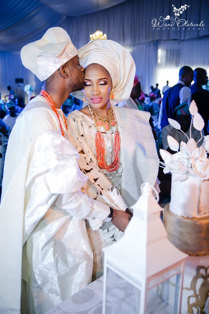 Yoruba Trad Wedding ~DKK ~African fashion, Ankara, kitenge, African women dresses, African prints, African men's fashion, Nigerian style, Ghanaian fashion.