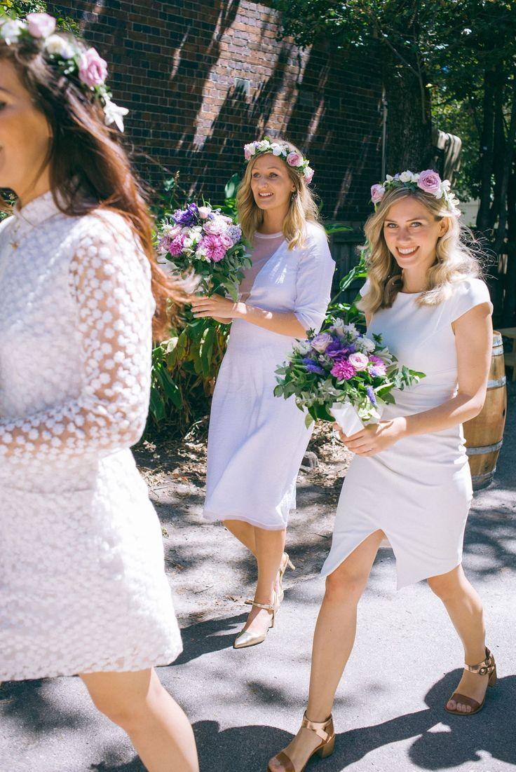 Kartina is wearing 'all that i am' dress in white viscose #nevenka #bride #wedding #white #madeinmelbourne