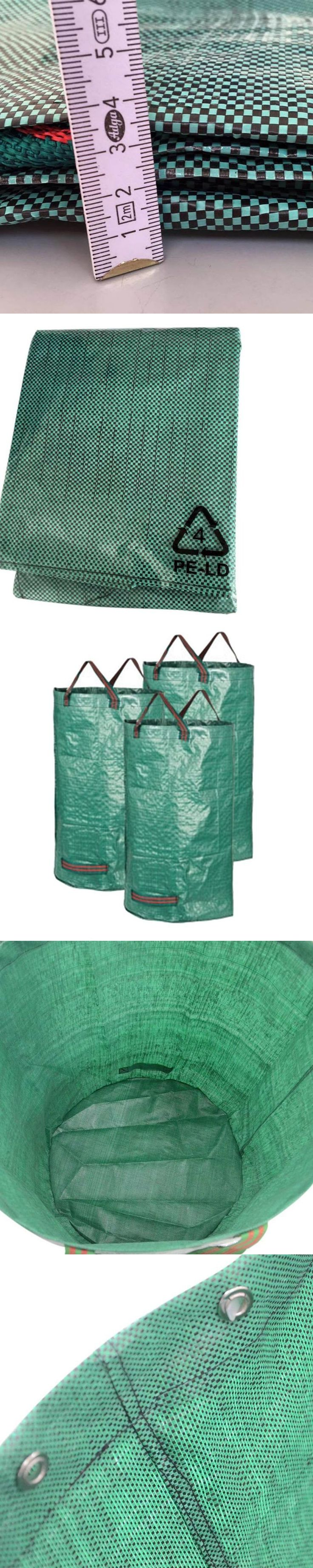 New Arrival 1 pcs 115L/25.5GA Gardening Bag Weeds Grass Container Reusable Yard Leaf Tool Storage Laundry Trash Bag Garden Clea