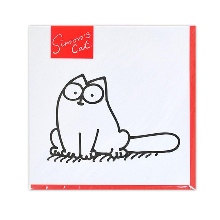 gattoso biglietto Simon's Cat per gattosi auguri    www.gattosi.com