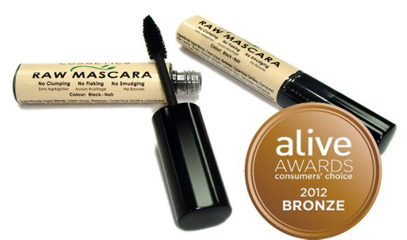Natural Raw Mascara - In my efforts to convert to natural cosmetics i decided to try this and its awesome!