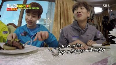 Enjoy Korea with Hui: Running Man: Nichkhun, Amber, Joon Park, Kangnam, ...