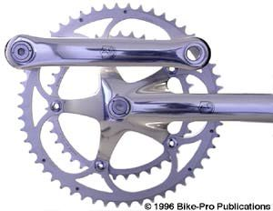 Campagnolo Cranks Bicycle - Bicycle Parts at discount prices / the Buyer's Guide / Bicycle Parts at their finest! / Professional Bicycle Source / Bike Pro