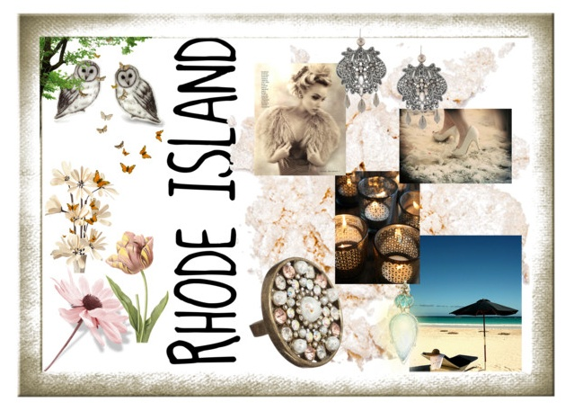Rhode Island - use RI items in a shallow shadow box type frame | DIY ...