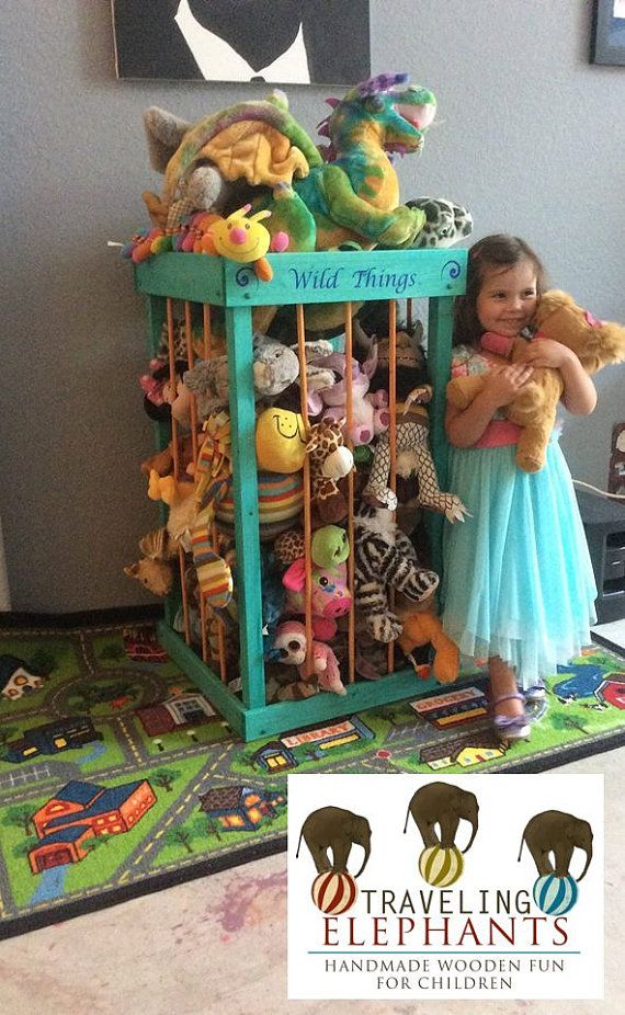 Hey, I found this really awesome Etsy listing at https://www.etsy.com/listing/232241237/38-stuffed-animal-storage-stuffed-animal