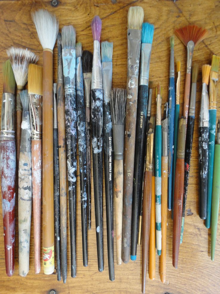 You can never have enough brushes