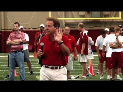 Check-In Speech given by Nick Saban at NSFC 2013