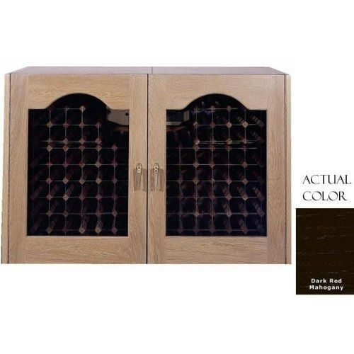 Vinotemp Vino-296prov-drm 224 Bottle Provincial Series Wine Cellar - Glass Doors / Dark Red Mahogany Cabinet by Vinotemp. $4019.00. Vinotemp VINO-296PROV-DRM 224 Bottle Provincial Series Wine Cellar - Glass Doors / Dark Red Mahogany Cabinet. VINO-296PROV-DRM. Wine Cellars. The Provincial series Wine Cellar by Vinotemp blends a crisp white oak exterior with double paned elegant glass doors to create the perfect touch for wine storage. The wine mate self contained coo...