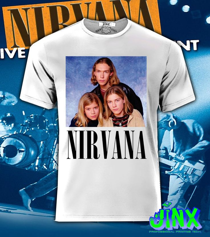 Playera o Camiseta Nirvana - Jinx