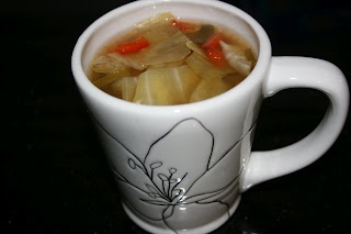 Cabbage Soup Diet CrockPot Recipe.. followed the recipe exactly.. it was terrible. do not use this one, I have had great cabbage soup and this one is not one of them!
