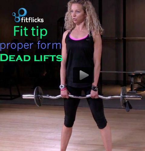 Women should Dead lift for a sculpted booty and firm legs! This is an excellent exercise for women wanting to firm and tone their love handles, glutes, and thighs.