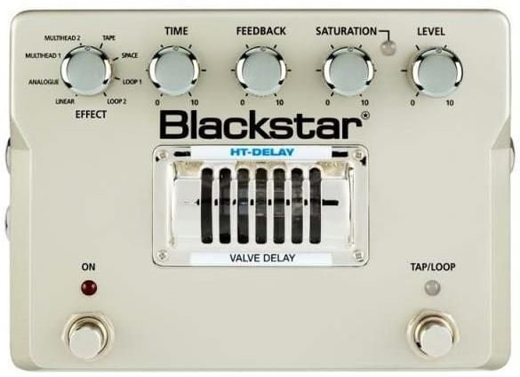 The Blackstar HT-Delay is a premium tube driven pedal that produces audiophile rackmount level sonic quality at a more guitarist friendly stompbox format.