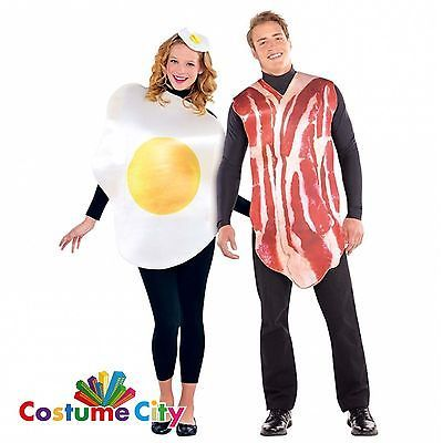 #Adults couples #breakfast buddies bacon & egg fancy dress #halloween costume,  View more on the LINK: 	http://www.zeppy.io/product/gb/2/272000727823/