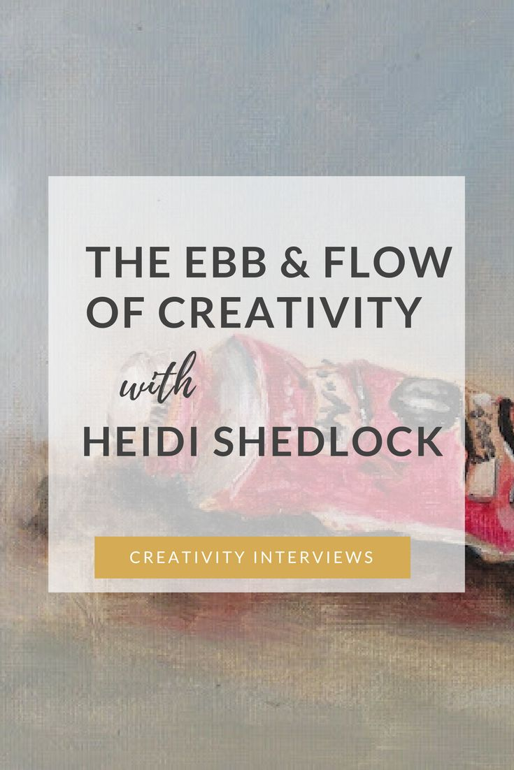 """Heidi Shedlock is an artist, teacher and mum of two. Over and above her usual creative work, about two years ago Heidi started a daily practice of painting a small postcard sized work and then kept going for 568 consecutive days! I spoke to her about how she began her """"Paintings in the Post"""" project, about community and accountability, and about the ebb and flow of the creative life."""
