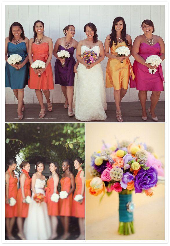 The bouquet/palette.