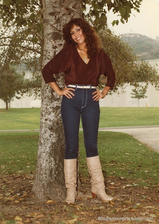 The Downtown Exile: 80s Southern California Glamour Girls