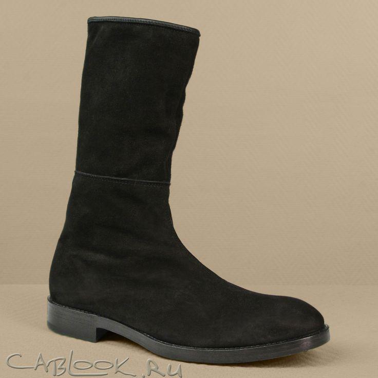 Сапоги мужские ALEXANDER HOTTO 1124 купить в интернет-магазине дизайнерской обуви КАБЛУК.РУ