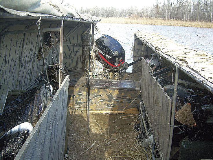 Hard Sided Blind Decoy Storage Duck Boat Pinterest