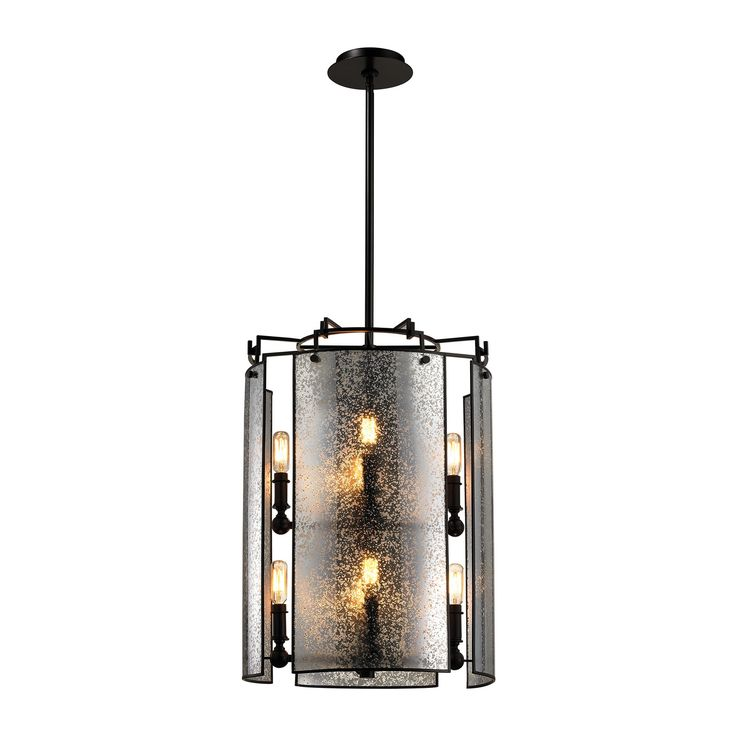 Eight Light Chandelier The Lindhurst Collection Reveals A Airy Design Augmented With Mercury Glass