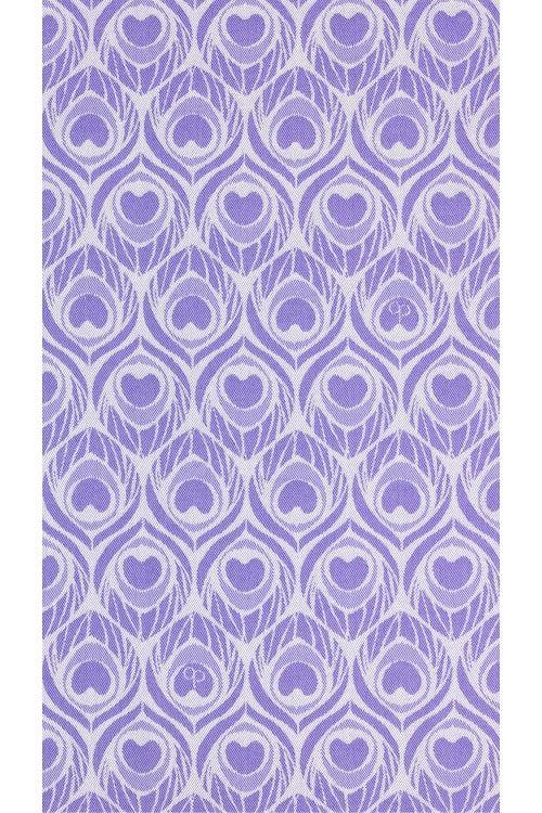 Argus Signature Lavender luxurious handwoven wrap - Avant-garde babywearing design house