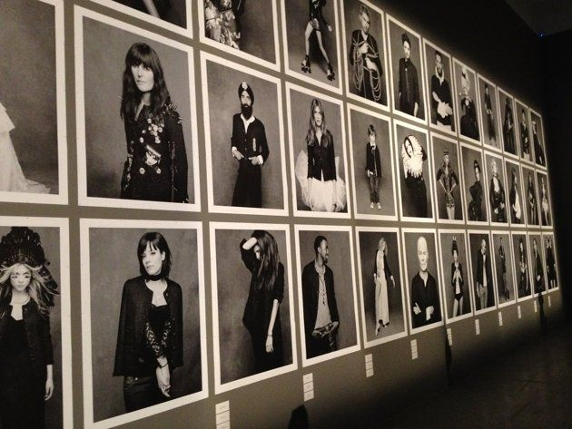 The Little Black Jacket.    Chanel's classic revisited.     By Karl Largerfield & Carine Roitfeld    Exhibition photos by karl Largerfield