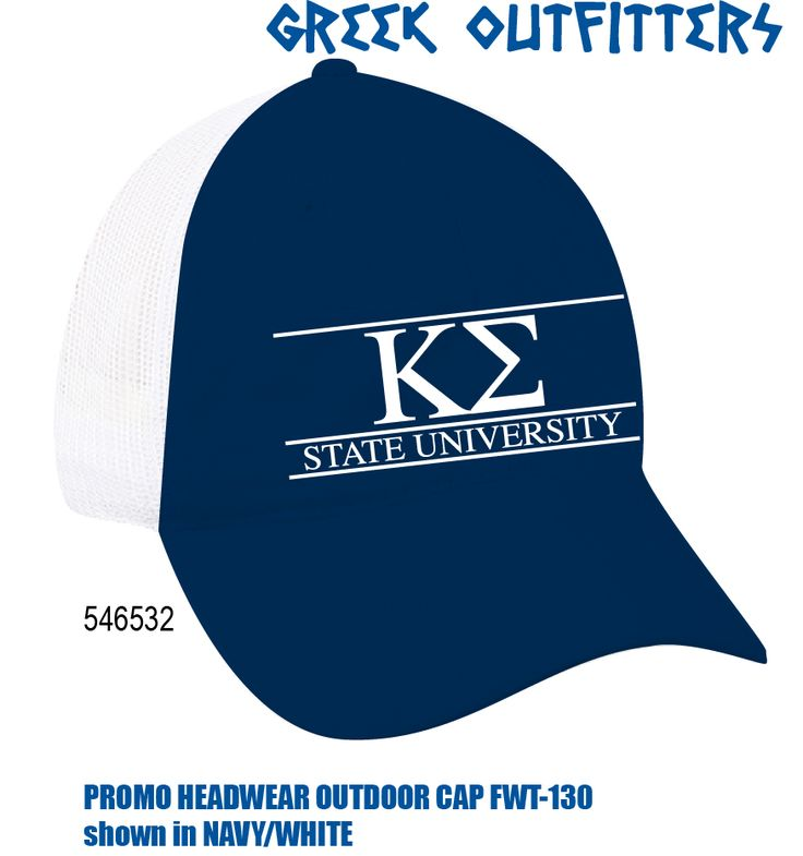 Greek Outfitters Kappa Sigma Promo Headwear Outdoor Cap #grafcow