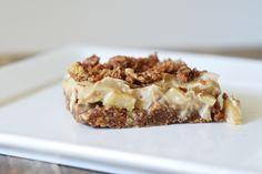 No-bake MonChou-taartje met pecannoten en appel - Culy.nl