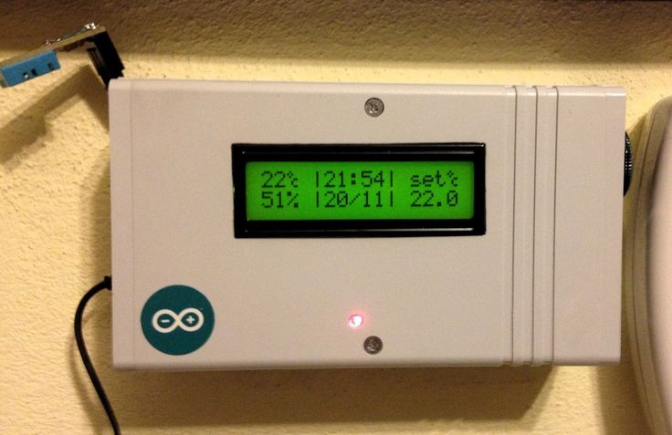 Mechatrons: PROGRAMMABLE THERMOSTAT WITH ARDUINO