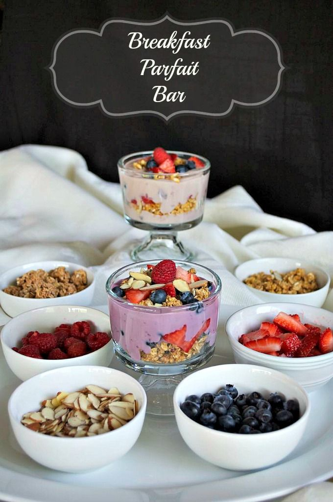 Start the every morning off right with this great breakfast - a Breakfast Parfait Bar with ingredients from Silk, Simple Truth and fresh fruit.